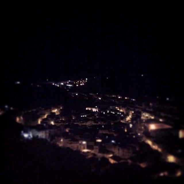 #nottedeimusei a Scicli - Vista sulla Città dal Convento della Croce #ndm14 #ndmscicli14