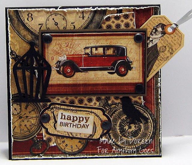'happy Birthday' / Masculine Card