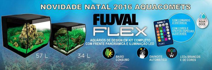 Novos Aquários de Design Fluval FLEX - Novidade de Natal Aquacomets   Aquacomets - Tudo para Aquariofilia e Lagos Ornamentais