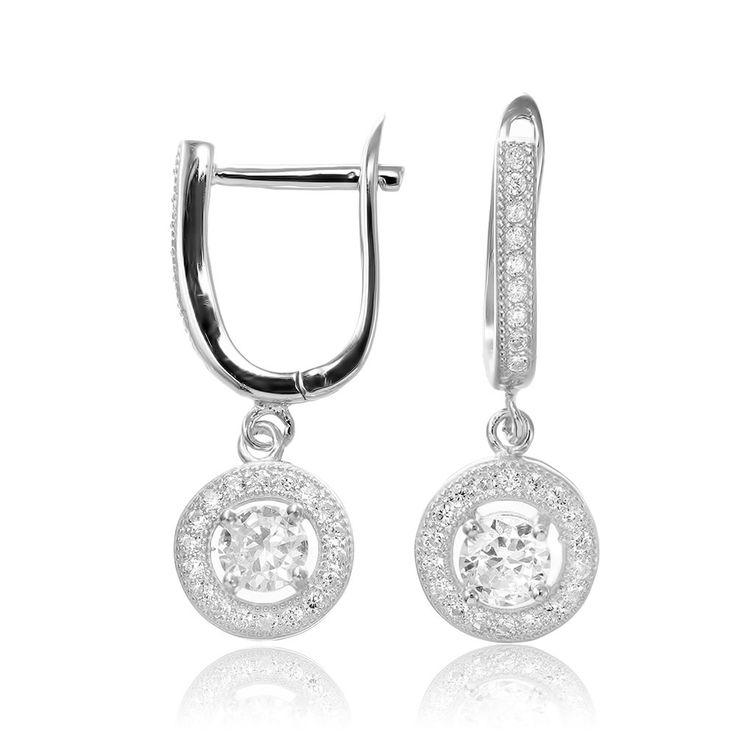Cercei argint Latch Back Drop Earrings Zirconii Cod TRSE004 Check more at https://www.corelle.ro/produse/bijuterii/cercei-argint/cercei-argint-latch-back-drop-earrings-zirconii-cod-trse004/