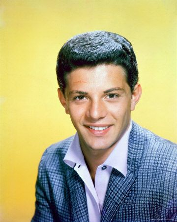 Frankie Avalon was born Francis Thomas Avallone on September 18, 1940 in Philadelphia, Pennsylvania.  By the time he was 12, Avalon began making appearances on U.S. television for his trumpet prowess, and, seven years later, he had risen to become a teen idol for young female teenagers in the 1950s. His most famous song was Venus, recorded on the Chancellor label.  Later in the 1960s, Avalon became known for his roles in the beach film genre--often starring with Annette Funicello.