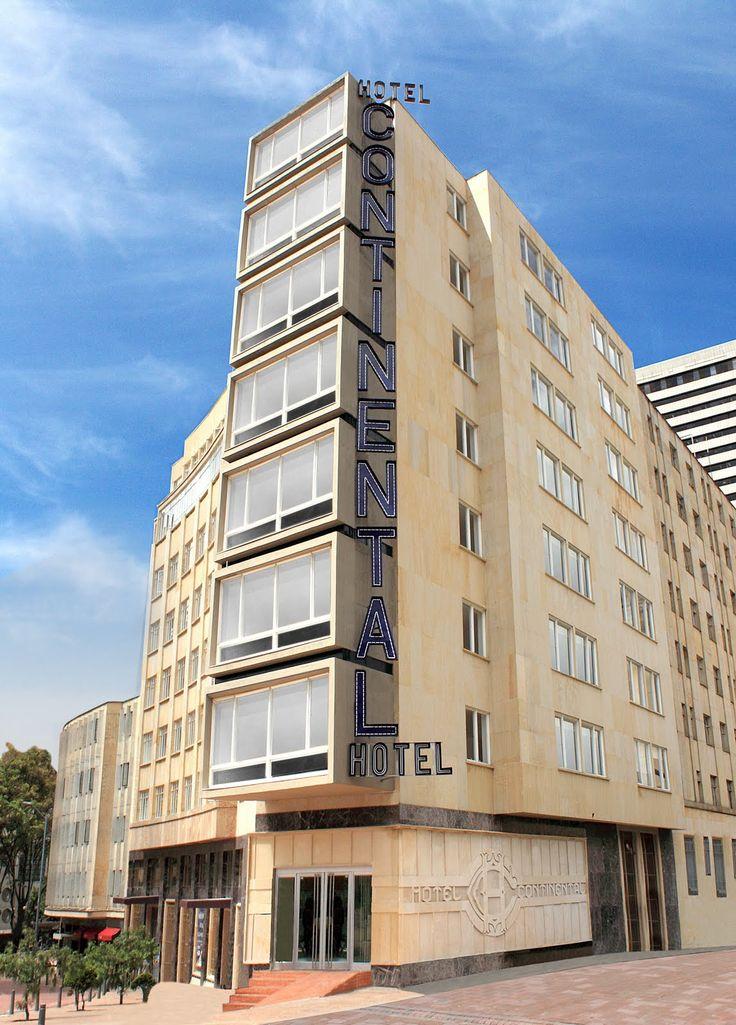 El Hotel Continental All Suites, ubicado en el Centro Histórico de Bogotá,