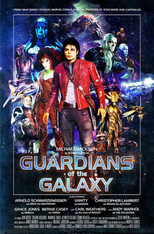 guardians of galaxy Modern Movies Reimagined as Vintage Hollywood Posters | Mental Floss