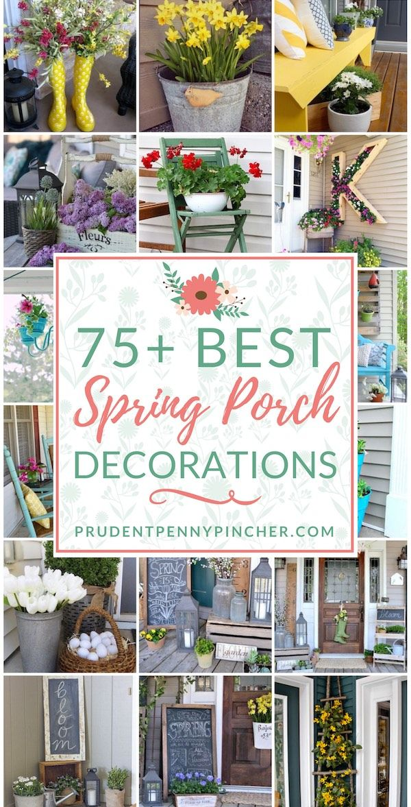 75 Best Spring Porch Ideas Diy Front Porch Spring Porch Decor