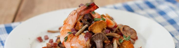 Jose Pizarro – Mushrooms and prawns on toast with Serrano ham. Willem would love this.