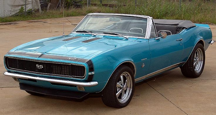 the hottest muscle cars in the world 1967 camaro ss convertible classic cars trucks. Black Bedroom Furniture Sets. Home Design Ideas