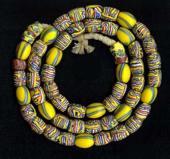 Antique Venetian beads from the African trade
