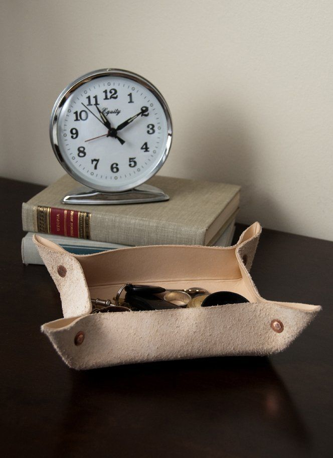 DIY Home Decor: How to Make a Leather Valet Tray Apartment Therapy Reader Project Tutorials