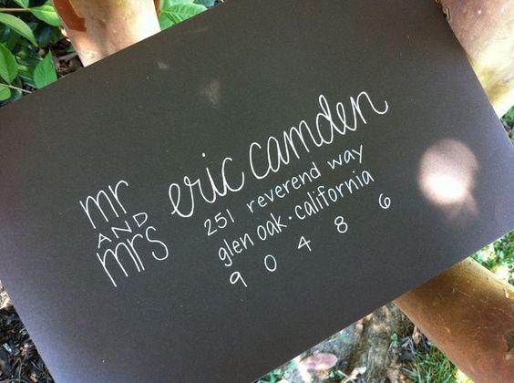 caligrafia convites de casamento 2