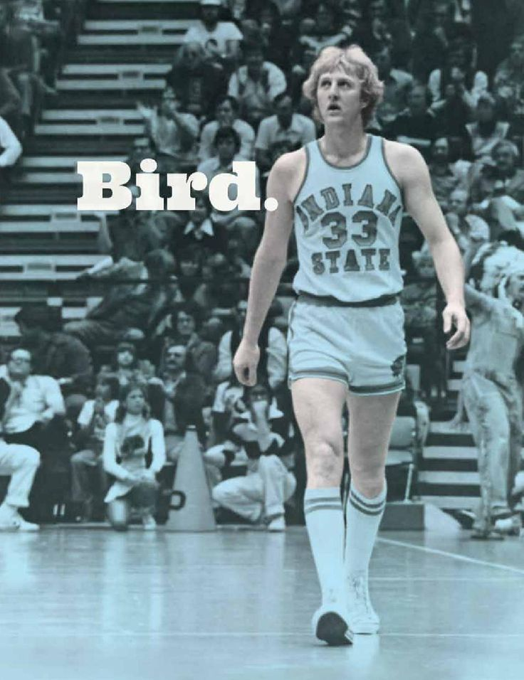Larry Bird Tribute Issue by Indiana State University