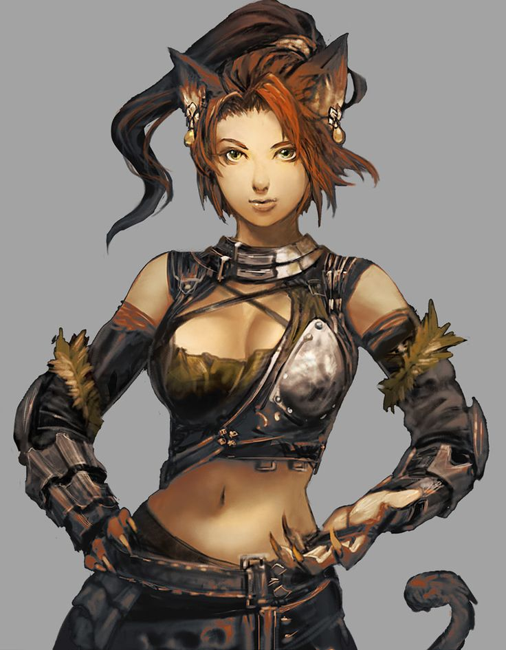 ✧ #characterconcepts ✧ Nei Race - Stranger of Sword City [RPG]