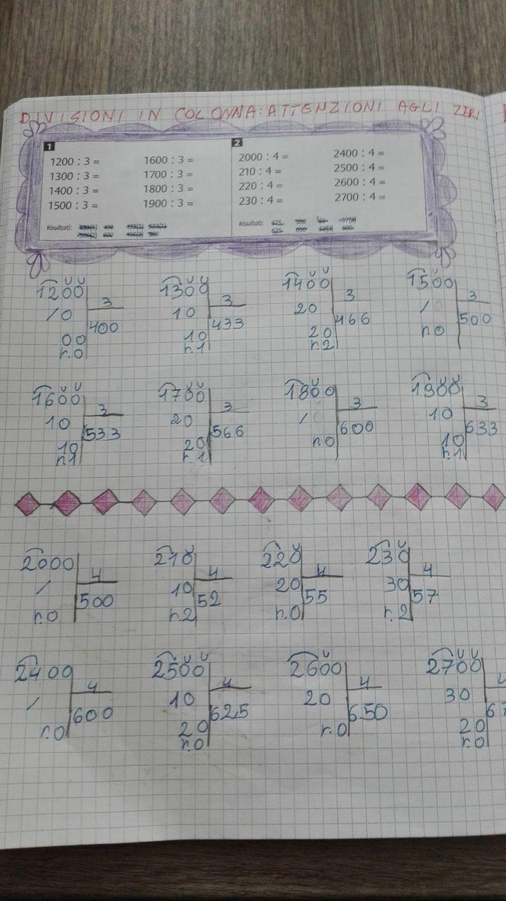 Divisioni-Proprietà invariantiva- problemi-Classe Terza ...