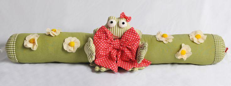 """Tina al rana mattutina, la nostra prima creazione pubblicata sulla rivista """"TUTTO CUCITO"""" specializzata in cucito creativo il 15 maggio 2014."""