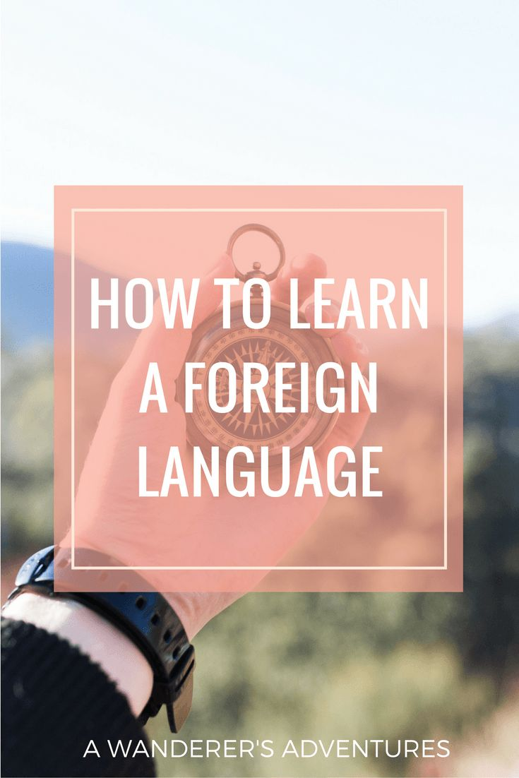 Success through a foreign language
