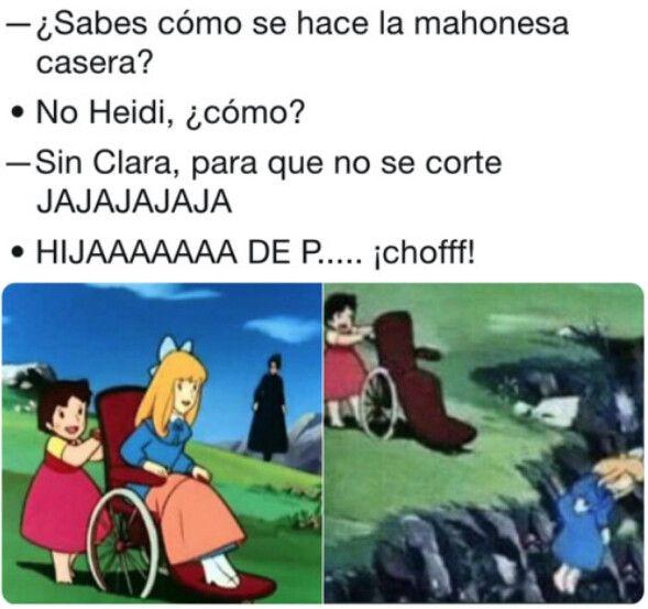 Iglesias Recurre Al Meme De Heidi Y Clara Para Hablar De La Purga