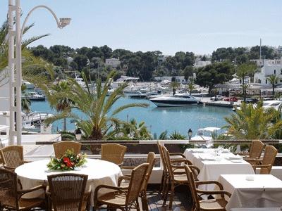 Port Petit restaurant in Cala d'Or Marina