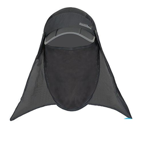 Outdoor Sun Hat Man and woman fishing Cap Summer sunhat Mosquito-proof 2b88c76193d0