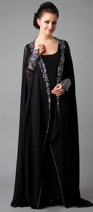stylish black abaya (1)