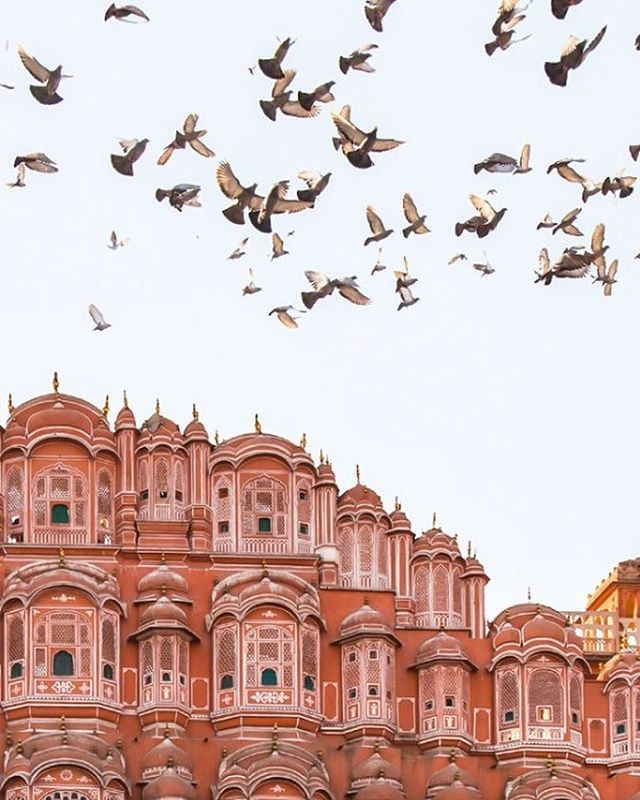 I smile when a photographer captures a refreshingly original view of something that's been photographed a zillion times. @danflyingsolo I love your Hawa Mahal!