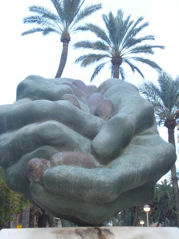 Escultura urbana #elche