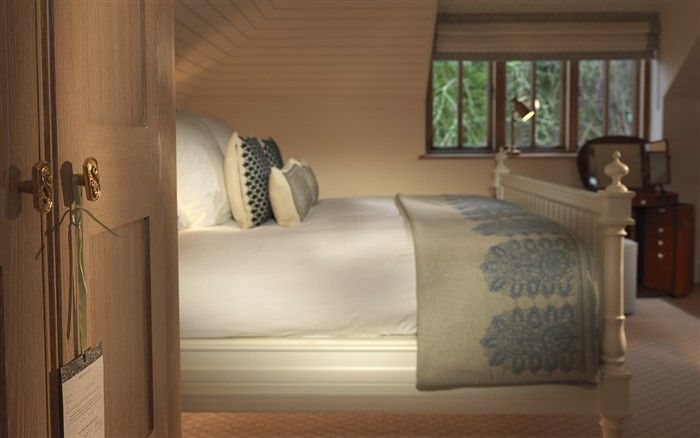 Lime Wood Hotel, Hampshire. Forest Hideaway Suite