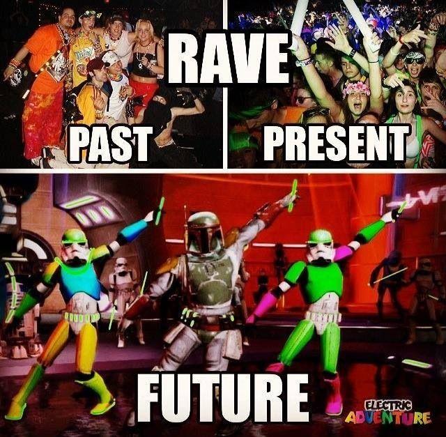 Rave Meme Funny Edm Neon Ravers Ravespiration