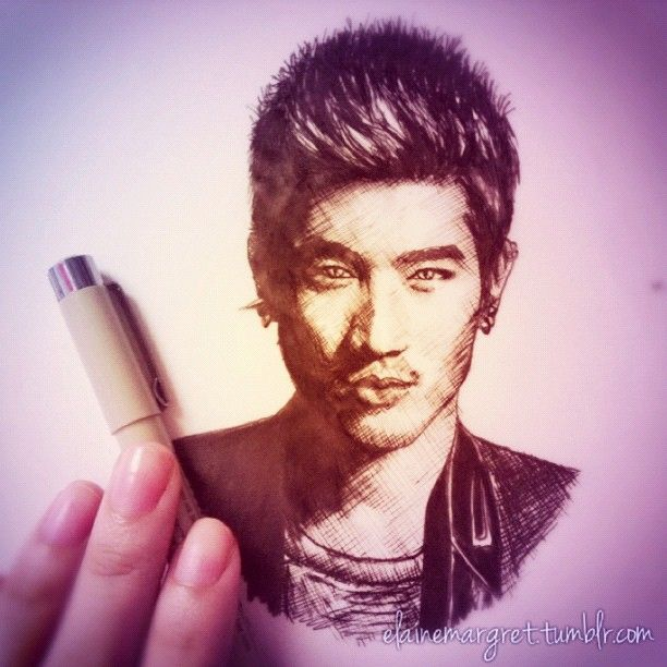 Godfrey Gao as Magnus Bane from The Mortal Instruments: City of Bones (2013) • by Elaine Margret 2012