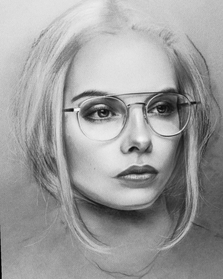 Как нарисовать портрет с фотографии эскиз