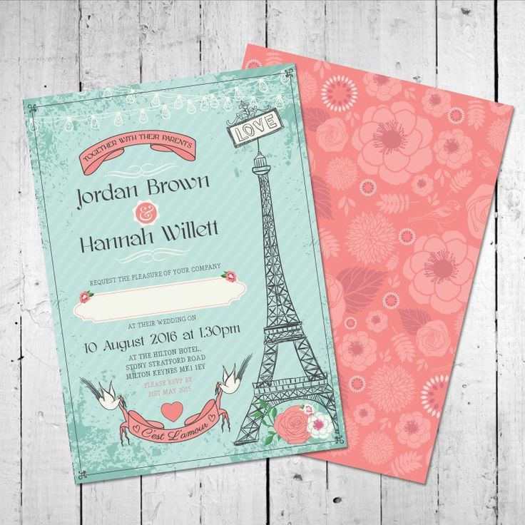 21 best Kissing Otters Wedding Invitation Designs images on ...