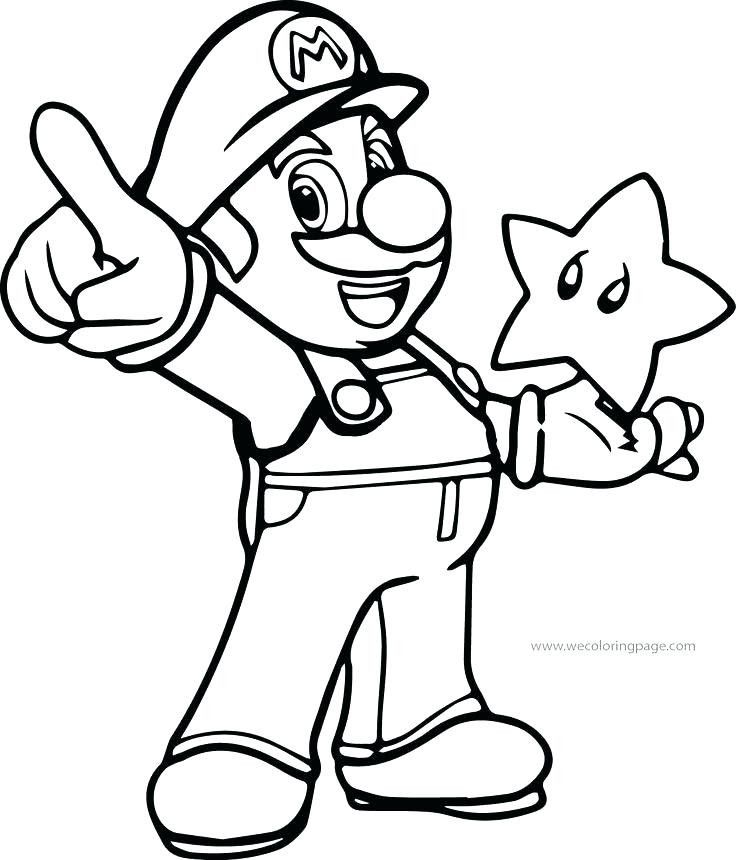 Image result for luigi and mario coloring pages Mario