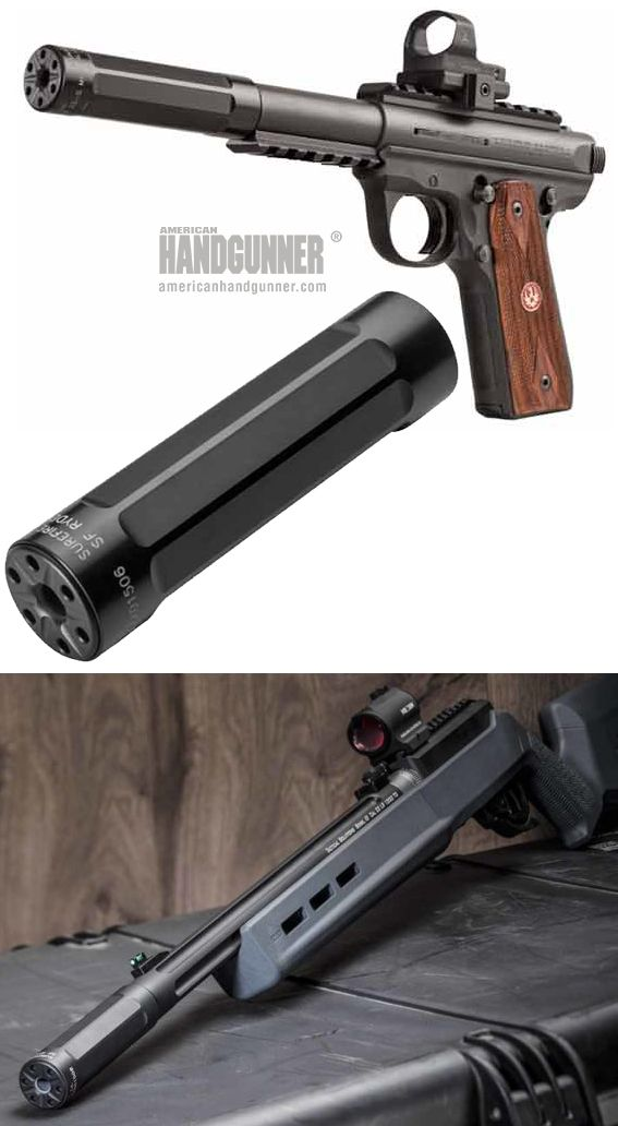 """EXCLUSIVE: SureFire Ryder Mini-22 Suppressor 