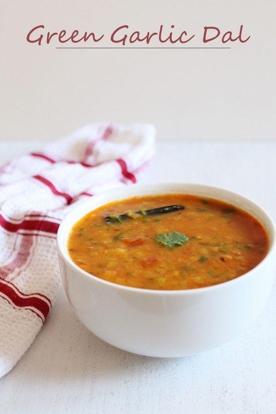 Green Garlic Dal Recipe | How to make Hare lehsun ki dal recipe