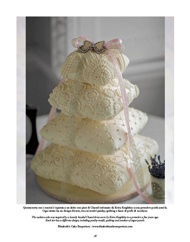 CAKE Design by Elizabeth's Cake Emporium.  @lizcakeemporium #cake #design #weddingcake #fashion #look #style #wedding #bride #weddingdress #ideas