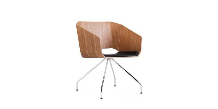 WOODI - Lounge and Conference Chair by Sitag Formy Siedzenia
