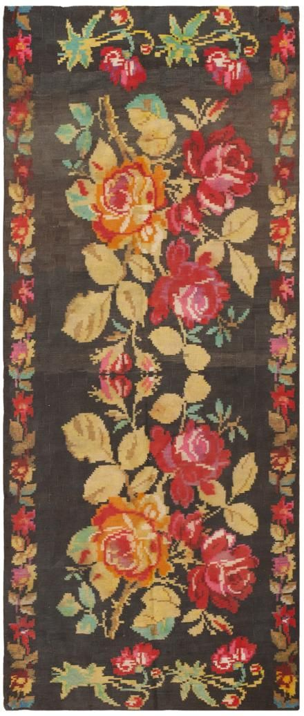 Antique Persian Kilim 44005 Main Image - By Nazmiyal