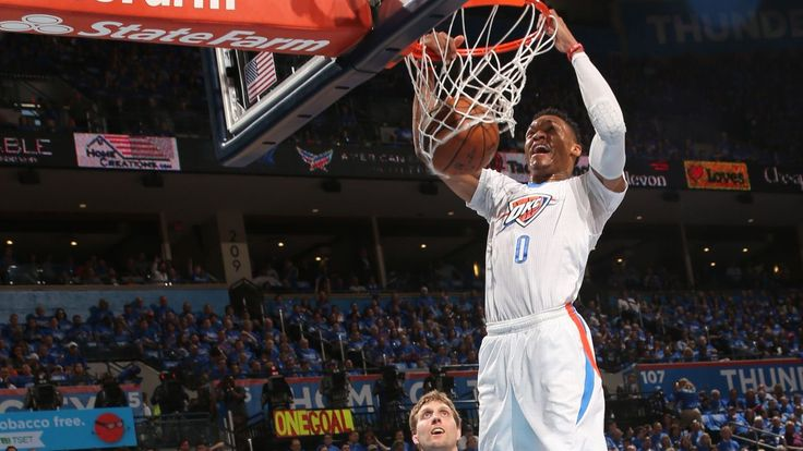 Led by two superstars, the Thunder cruise past the Mavs in five games