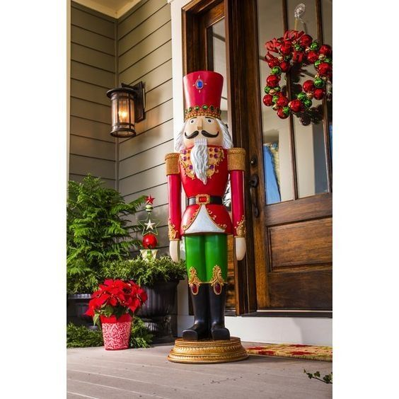 38 Creative Christmas Outdoor Decoration Ideas Exterior