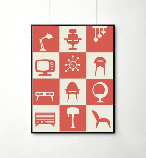 26.00$ - Poster, Retro furniture,furniture art print, Home Decor, Retro Art, Mid century art, Retro Posters, Retro prints  #sign #icon #symbol #set #icons #web #information #button #graphic #business #design #internet #element #computer #3d #communication #letter #note #paper #collection #object #square #house #colorful #text #office #mail #data #pictogram #home #finance #color #card #buttons #glossy #art #black #box #shadow #reflection #blank #word #symbols #arrow #clip #shape