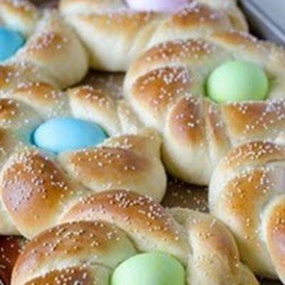 Italian Easter Bread @keyingredient #italian #bread