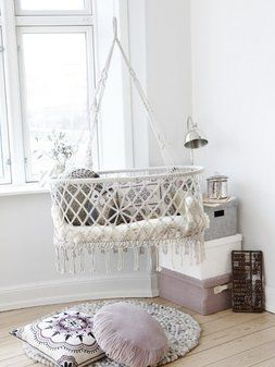 Ideas for inspiring kids spaces. Cute idea for a kids bedroom.