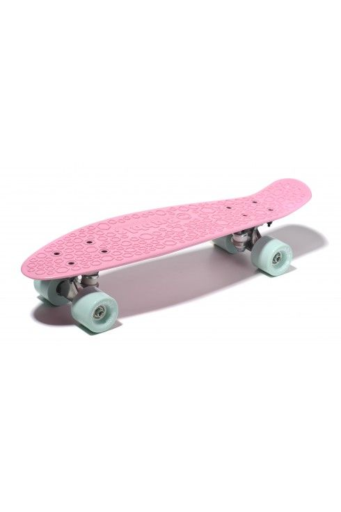Bubble skateboard FEMI BUBBLE candy pink