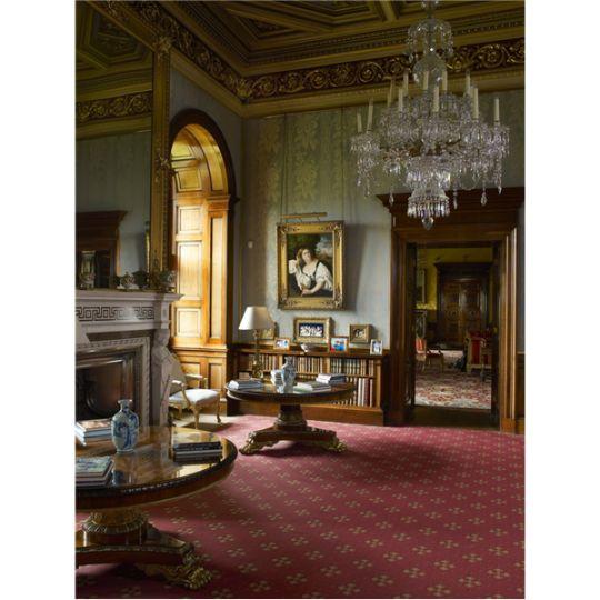 Classic Elegant Home Interior Design Ideas Old Palm Golf: The Ante-Library At Alnwick Castle. Palma Vecchio's The