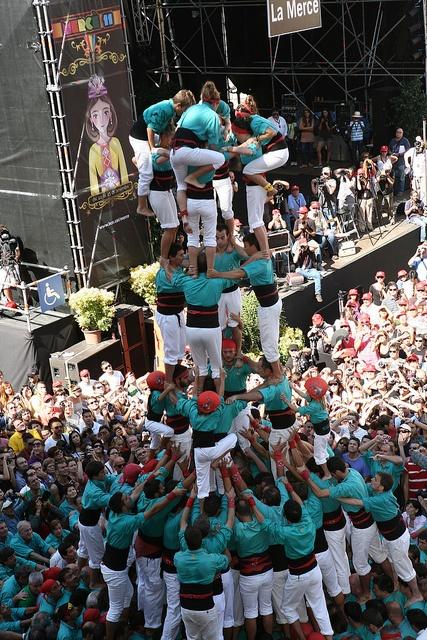 Diada castellera, Mercè 2011.