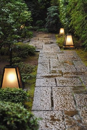 garden lighting, landscape architecture lighting options, pathway lighting