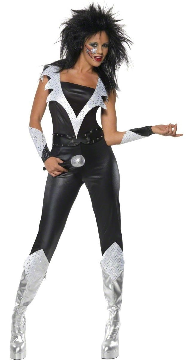 Best 25 rocker costume ideas on pinterest kiss costume glam rock chick costume music legends costumes at escapade solutioingenieria Image collections
