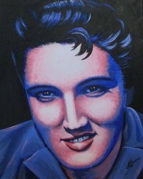 Elvis    Artist: Gardner, Anne  Artwork title: Elvis