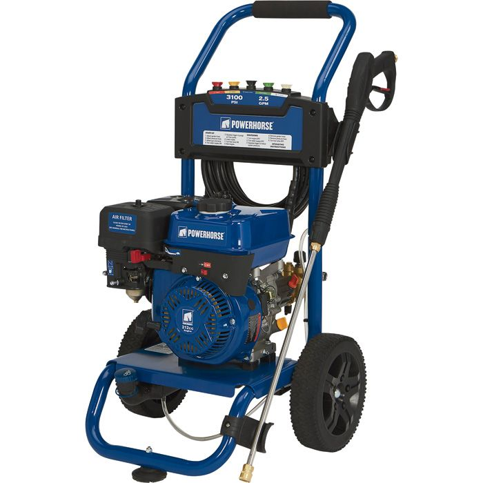 FREE SHIPPING — Powerhorse Gas Cold Water Pressure Washer — 3100 PSI, 2.5 GPM, EPA and CARB Compliant   Gas-Cold Water Pressure Washers  Northern Tool + Equipment