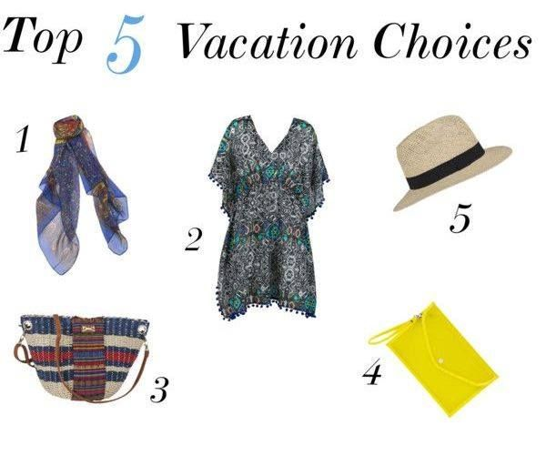 These are our favorite summer vacation pieces! Shop here:  1. Floral Scarf:  http://bit.ly/UN78B5 2. Butterfly Kaftan: http://bit.ly/1zp0nWy 3. Straw Bag: http://bit.ly/1nLY6QL 4. Clutch : http://bit.ly/RLtlyy 5. Straw Hat : http://bit.ly/1m054Nn