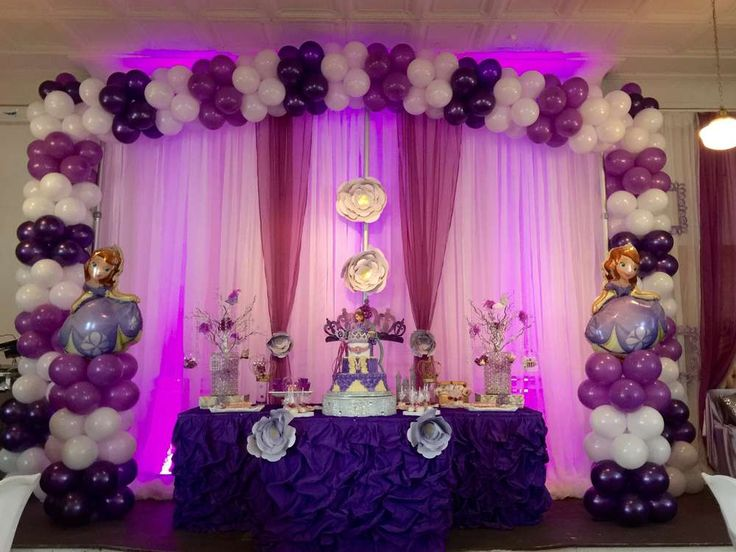Sofia the First Birthday Party Ideas | Photo 1 of 27