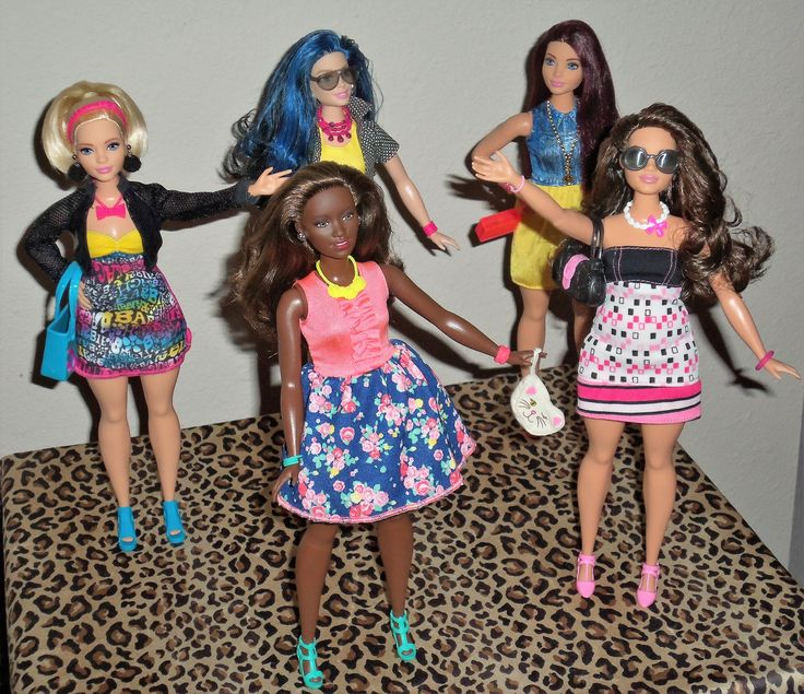 146 best curvy barbie images on pinterest barbie doll barbie barbie fashionista curvy barbie friends ooak style by aneka sciox Images